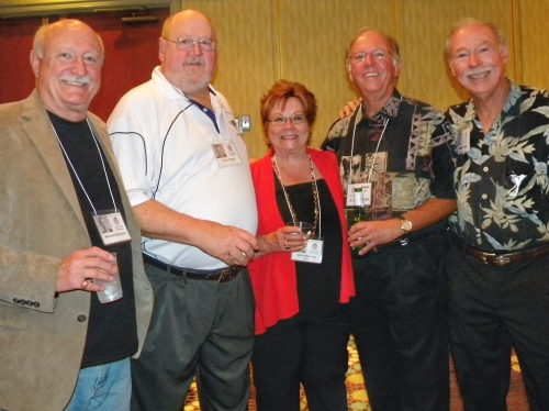 Mike Barmore, Jerry Neslen (now goes by Quayle Neslen), Janis Woolsey, Steve Keiser, Buddy Hamilton