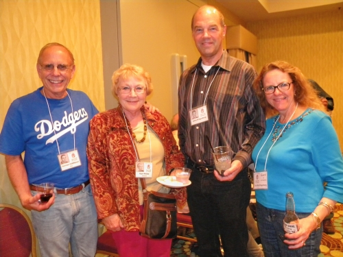Norman Kalbfleisch (now Norman King),   Kaye McGee Gittleman, Larry Klingenberg, and Lou Ann Klingenberg.