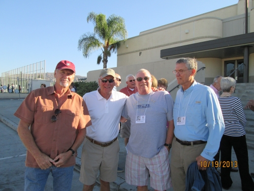 Kirk Given, Bruce Barley, Rich Rogers and Bill Grant.