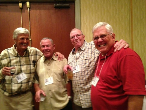Bill Heck, Dick Stevenson, Rich Rogers and John Bean.