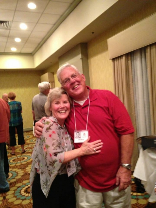Kathy Trorey Long and John Bean