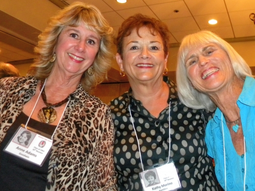 Anne Adams Goodwin, Kathi Morino Hamilton and Leah Thomas Anderson.