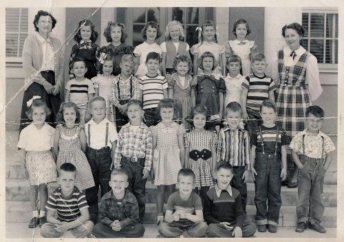 I with the help of others could identify the following classmates:  Buddy Hamilton,  David Erskine,  Pam Zinn,  Carol Pe