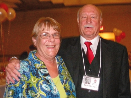 Wilma Catlett Miller and Mike Barmore.
