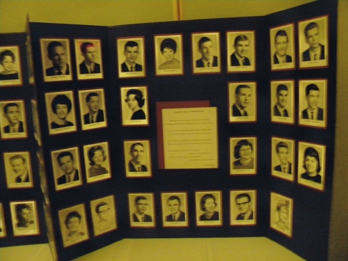 Second of 2 Memorial Boards of those classmates who have passed.